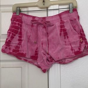 JUICY COUTURE velour shorts sz M